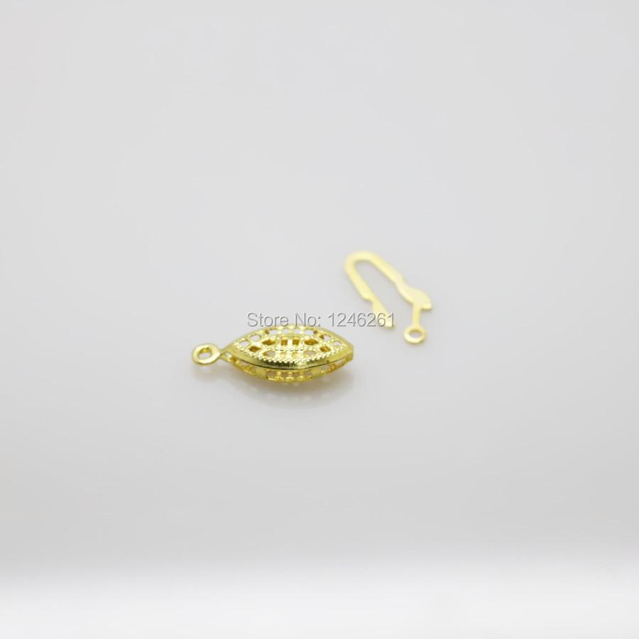 ღ ღ10 unids oro-color accesorios para metal reticular Equipos ...