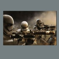 Large size wall art star wars 7 stormtrooper movie poster ...
