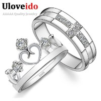 Aliexpress.com : Buy Crown and Cross CZ Diamond Promise ...