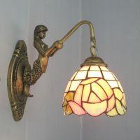 Mermaid Pastoral rose boudoir mirror front bedroom wall ...