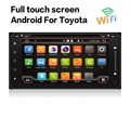 Dual Core Android 4 4 Car Dvd Headunit Radio for Toyota Hilux 2015 16 Gps Navi