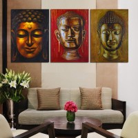 Pin Panel-wall-art-religion-buddha-oil-painting-on-canvas ...