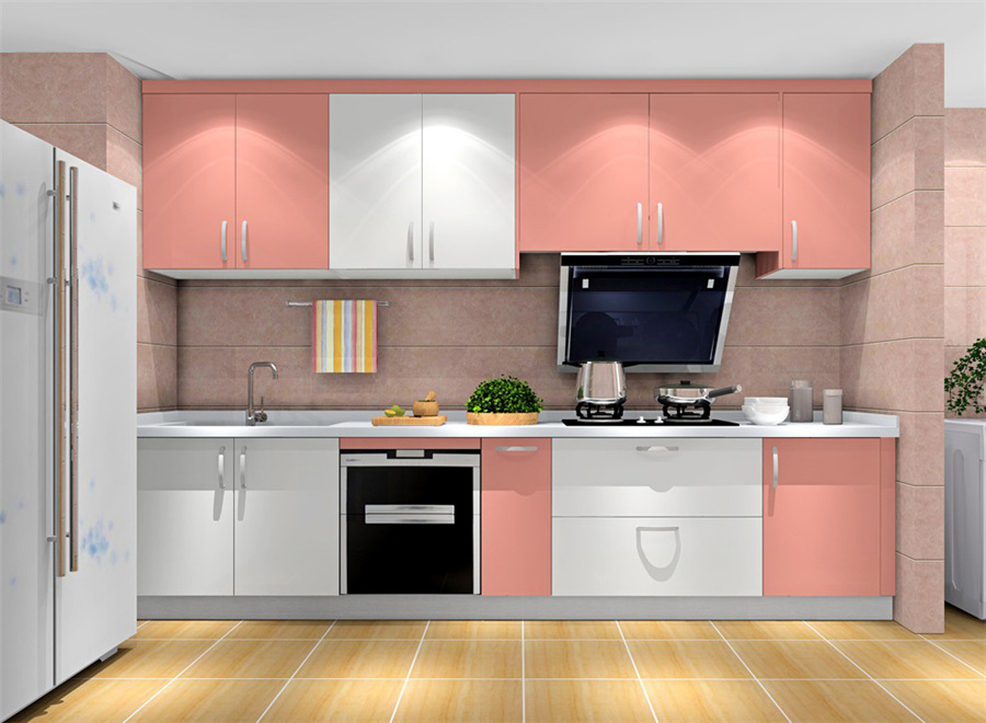 hot selling modern kitchen furniture high gloss simple