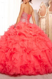 The gallery for --> Coral Quinceanera Dresses 2014