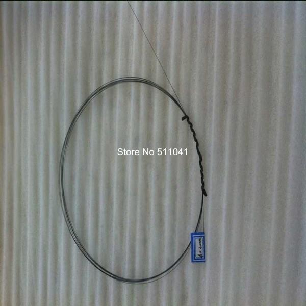 Φ_ΦNiTi súper elástico alambre nitinol pesca Titanium redondo ...