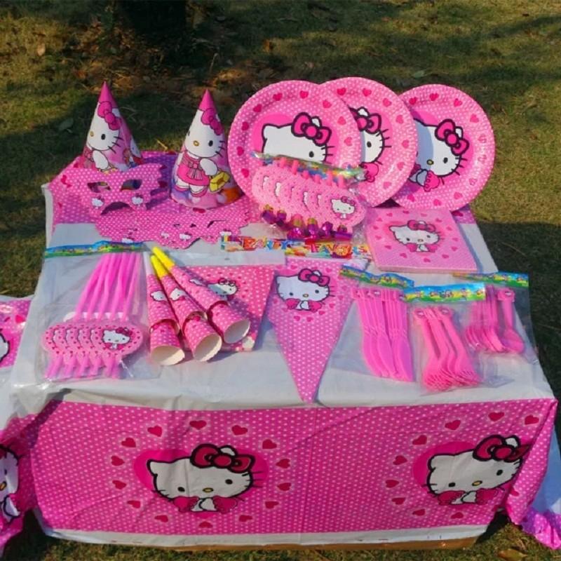 Nuevas fuentes del partido del gatito para los niños fiesta de ...