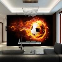 3D Football Mural wallpaper Soccer full Wall Murals print ...