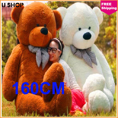 160cm Life Size Doll Plush Large Teddy Bear For Sale Giant