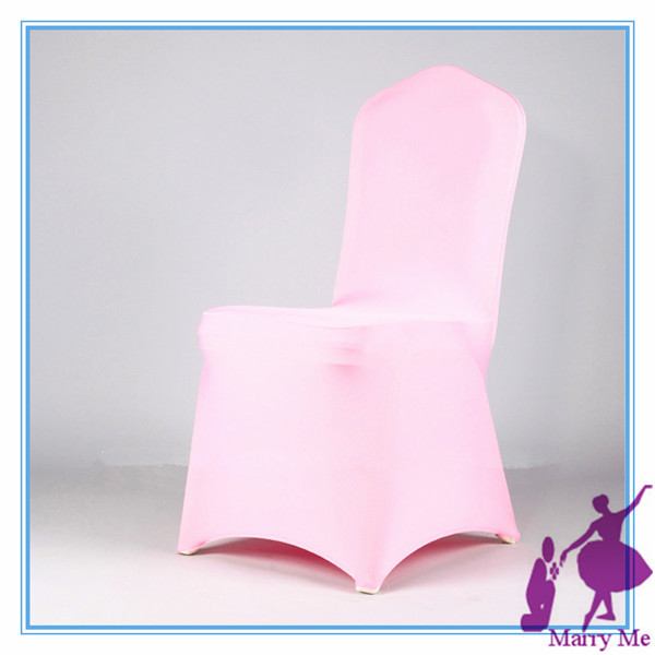 100pcs Pink discount Universal chair cover Wedding Banquet