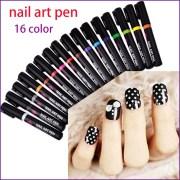 colors nail art pen 3d