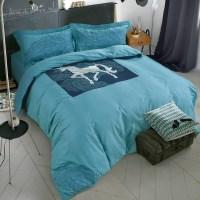 summer style 100% cotton ikea simple fashion 4pc horse ...