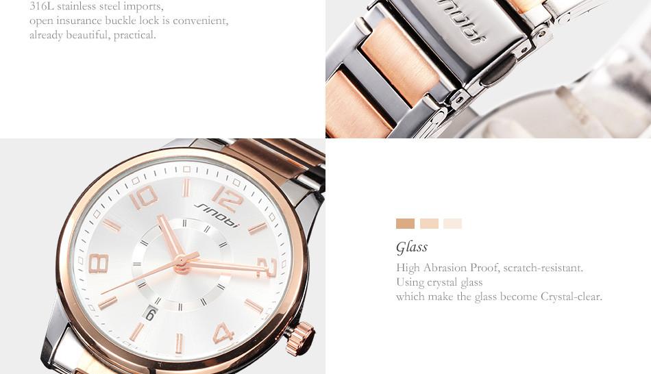 e13b8cefd20 ᑎ‰Mulheres Relógios Top Marca de luxo Da Moda SINOBI Assistir ...