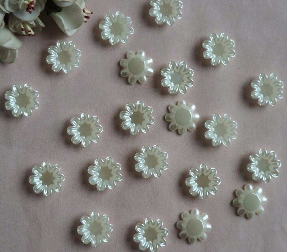Lot de 20 Perles rondes en Bois 14mm Motif Lièrres