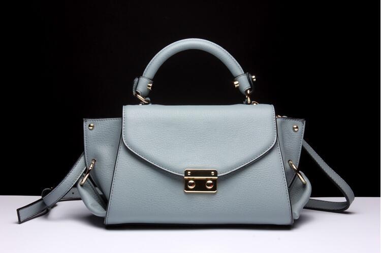 db38052da7c ᗑ Famosa marca de couro genuíno das mulheres sacos de moda de luxo ...