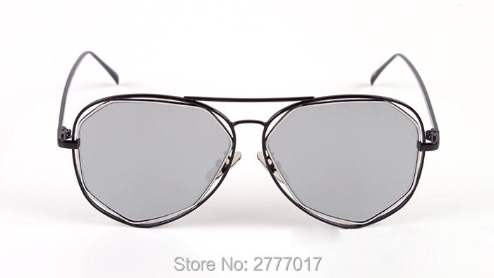 ᐃ2017 Moda Suave Mulheres piloto óculos de Sol Da Marca Clássico ... 72f6cc583f