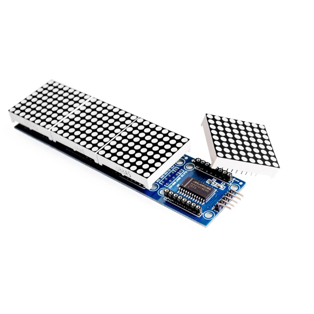 Wholesale Max Dot Matrix Module For Arduino Microcontroller 4 In One Display With 5p