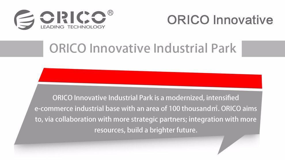 ORICO UC5P-GY 5 יציאת מיקרו USB מטען 40W חכם מדחס לאייפון/אייפד/סמסונג-אפור