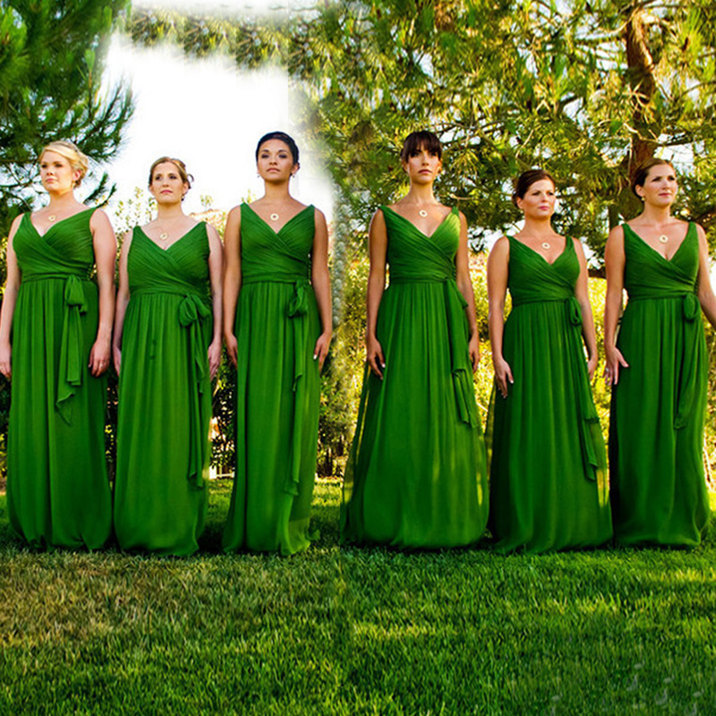 Online Get Cheap Emerald Green Bridesmaid Dress