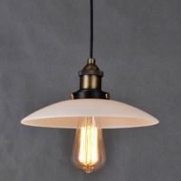 New European Loft Glass Pendant Lamp Creative Simple ...