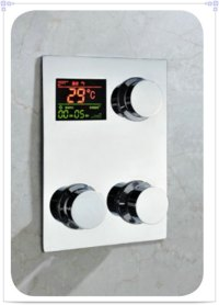 Digital thermostat shower mixer control Temperature ...