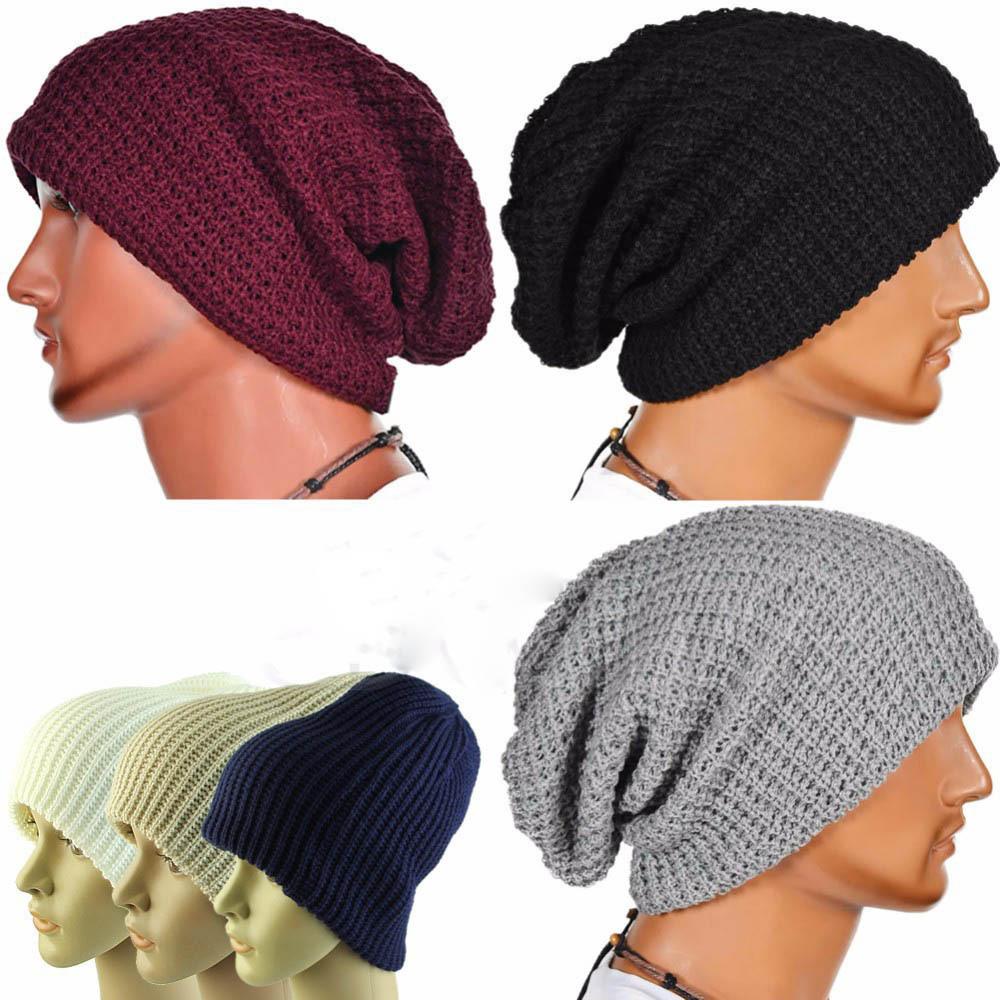 ୧ʕ ʔ୨América y Europa pop Thin Knitting sombrero rayas verticales ...
