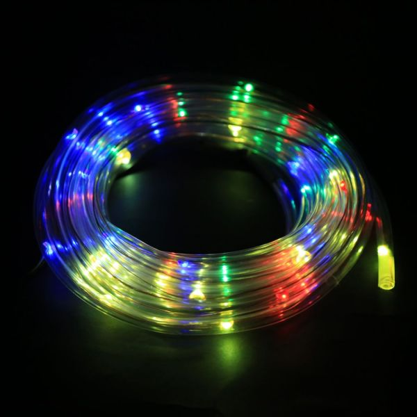2015 Arrival 7m 50 Solar Led Rope Light Multi Color Christmas Party Outdoor Decor