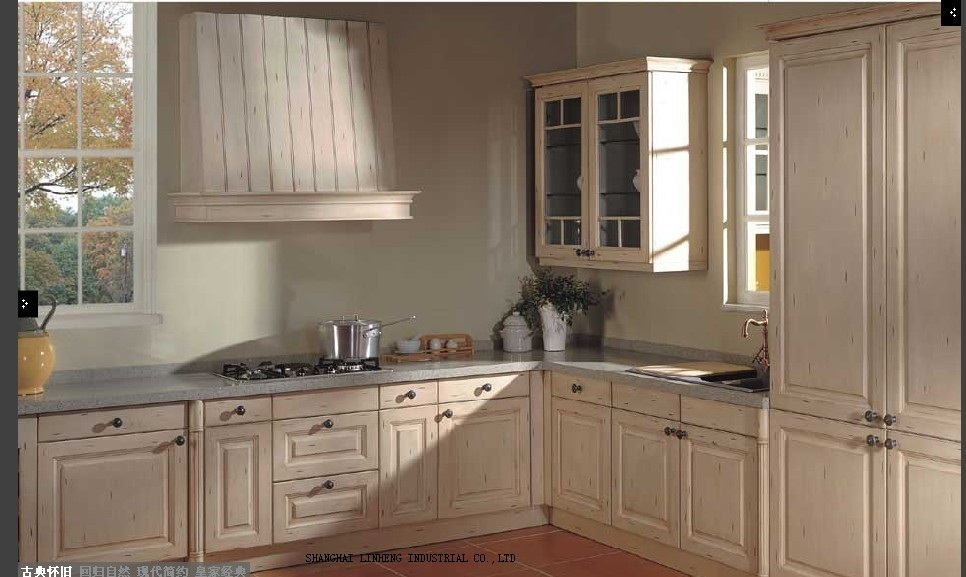 modular wooden cheap kitchen cabinetLH SW041in Kitchen