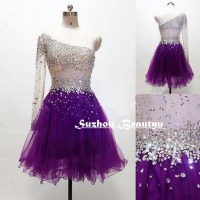 Purple Graduation Dresses For Grade 6 - Eligent Prom Dresses