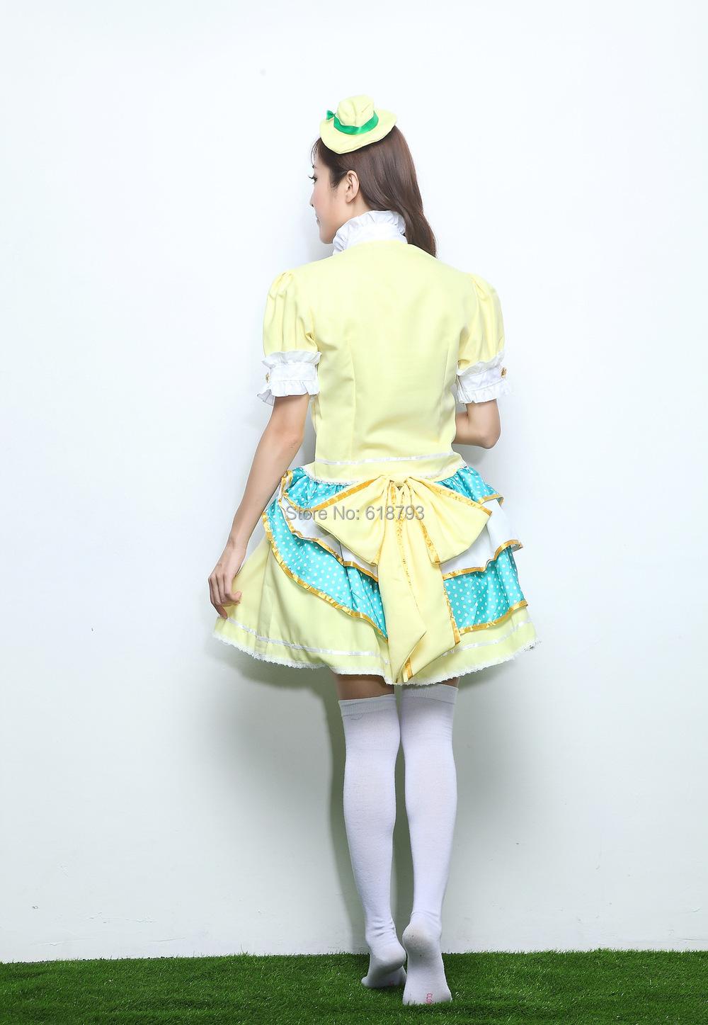 Nuevo amor vivo Koizumi hanayo Cosplay traje cos fruta Tojo Nozomi ropa  Minami kotori vestido ACG560 9c614fecc87b
