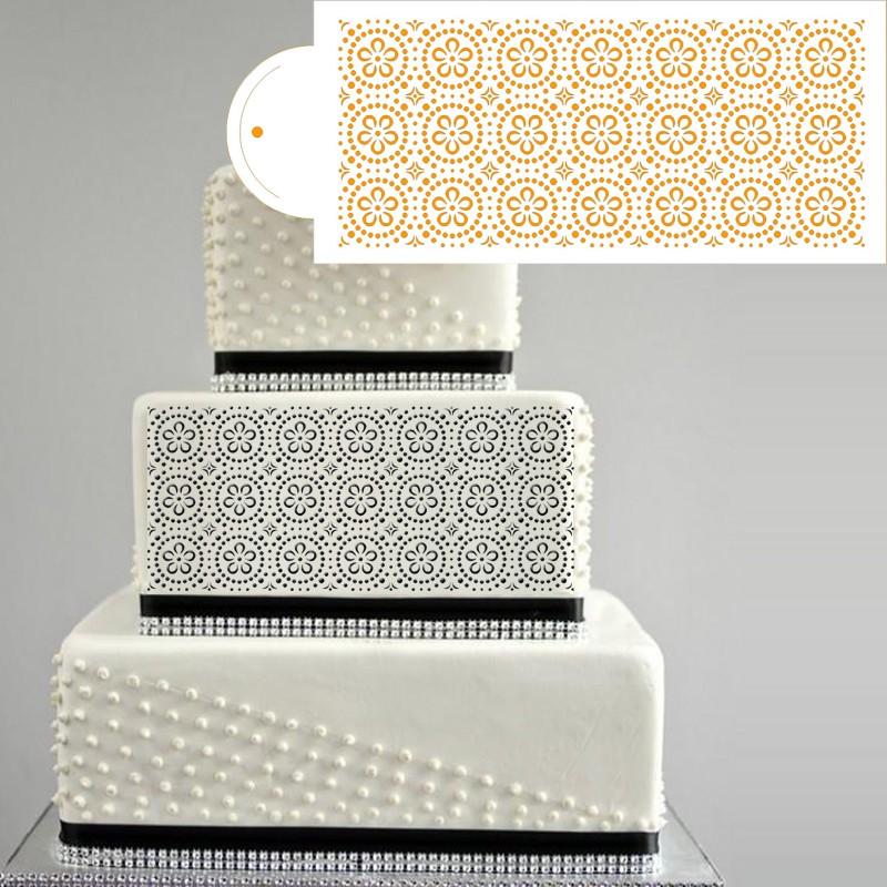 a1dab0235879 웃 유2016 Новинка цветочным узором сахарные украшения торта ...