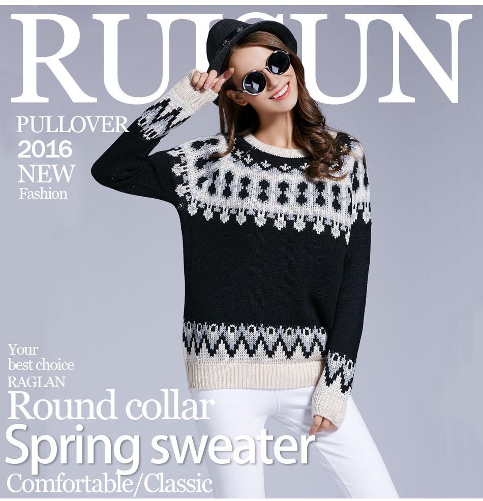 ✓Gacvga marca suéter patrón mujeres cálidas lindo Navidad suéter ...