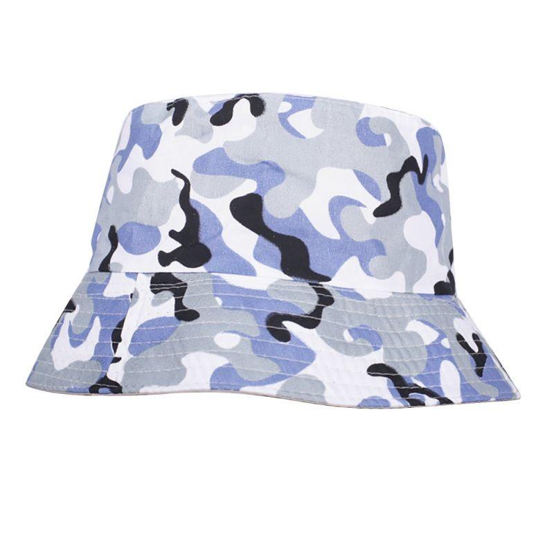 ③Moda verano hombres algodón sombrero del cubo Boonie visera Sun ...