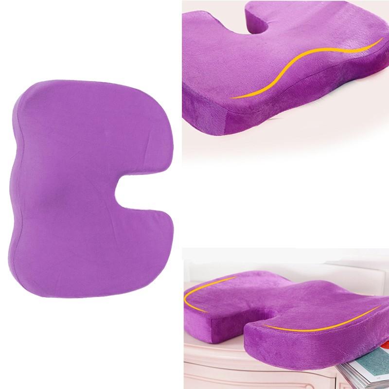 Asiento de espuma de memoria Cojines para silla coche masaje