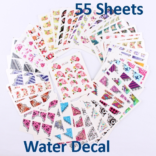 Nail Art World Stickers Water Decal Sticker Design In China