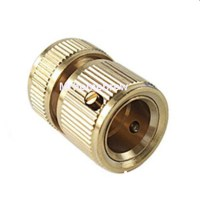 New-Brass-Metal-Garden-Water-Hose-Connector-Can-Be-Through ...