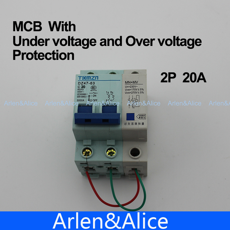 Over Voltage Or Under Voltages By Overvoltage Protection Circuit Using