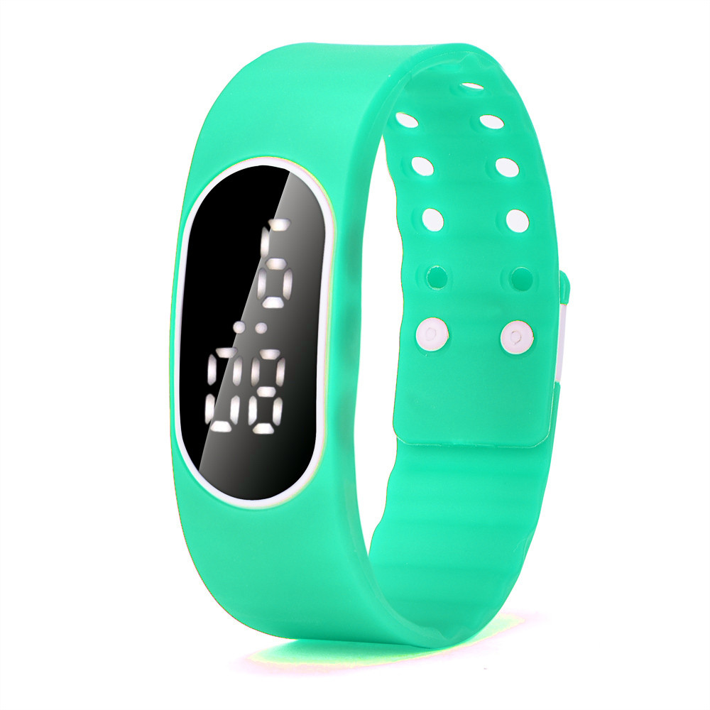 ᐂ3IN1 Digital-watch Mens Womens Rubber LED LCD Watch Date Silicone ...