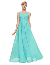 Aliexpress.com : Buy Grace Karin Aqua Blue Bridesmaid ...