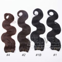 "1PC+ Premium Now Body Wave Hair 18"" Color1,1B,2,4 Pure ..."