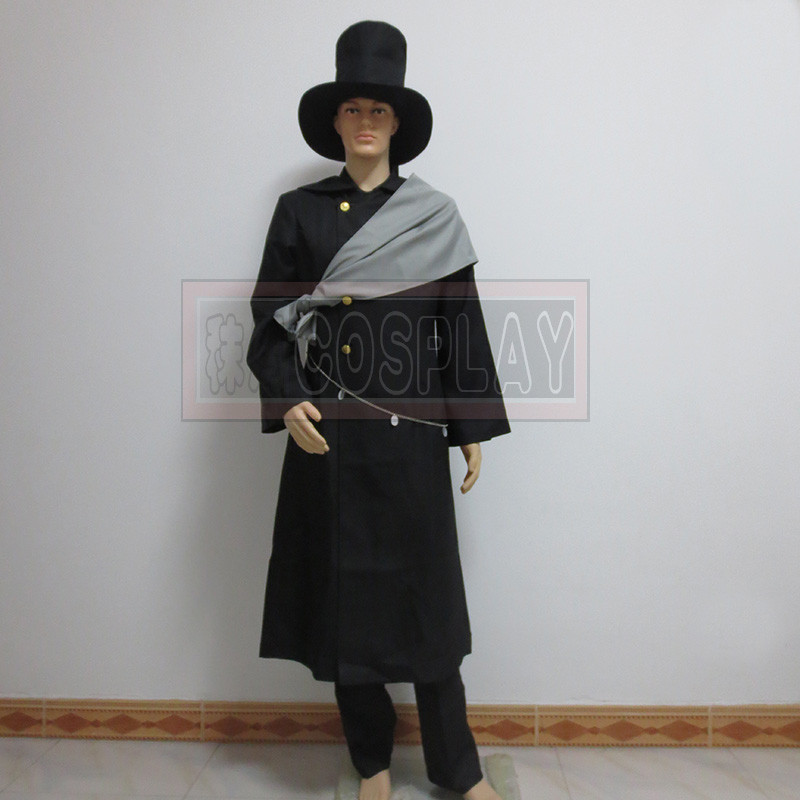 ᐊblack Butler Undertaker Cosplay Costume Packing Included Packing