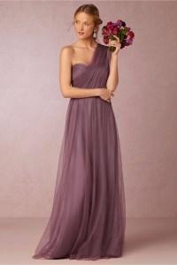 2016 lavender bridesmaid dresses one shoulder party ...
