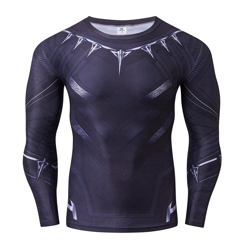 cc46aa2ef3 Novo Inverno Mens Crossfit Compressão 3D Impresso T-Shirt de manga Comprida  Camisa Masculina Roupas de Fitness Calças Justas Camada de Base Tops  S-4XLUSD ...
