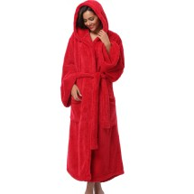 Long Fleece Robes for Women