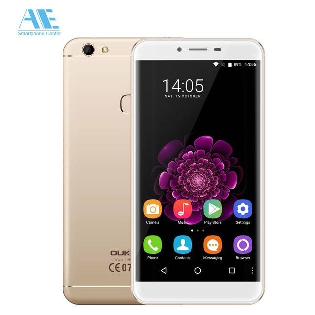 Original Oukitel U15S MT6750T Octa Core Android 6.0 Fingerprint 4GB RAM 32GB ROM 5.5 Inch 1920X1080P 4G FDD LTE Mobile Phone