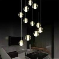 Aliexpress.com : Buy crystal ball pendant light coloured ...