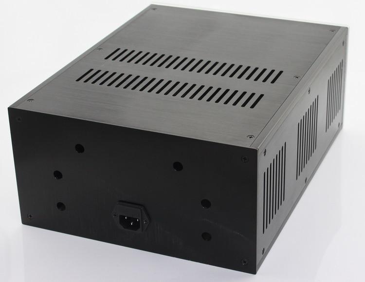 Click here!! WA109 completo aluminio amplificador chasis amp caja  370 150 285mm 13f171b91b36