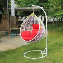 Hanging Basket Chair Indoor Are Covers Necessary Wedding Rattan Swing Outdoor Balcony Single Wicker