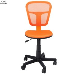 High Quality Office Chairs Ergonomic Big Lots Patio 2016 New Hight Orange Colors Pu Leather Back