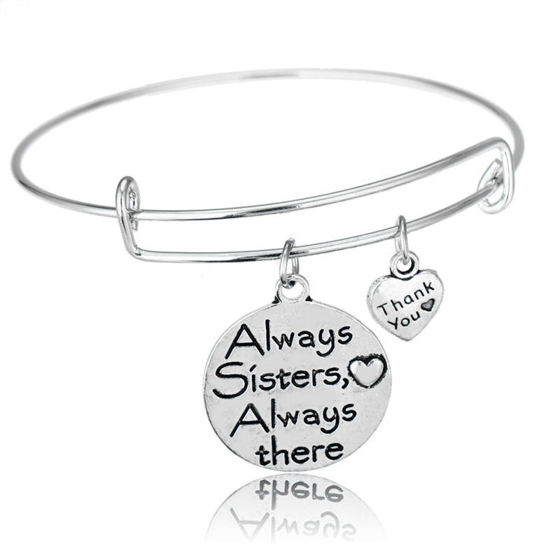 BESPMOSP The Love Between Grandmother and Granddaughter is Forever Charm Bracelet Christmas Gift RP9pGNhP