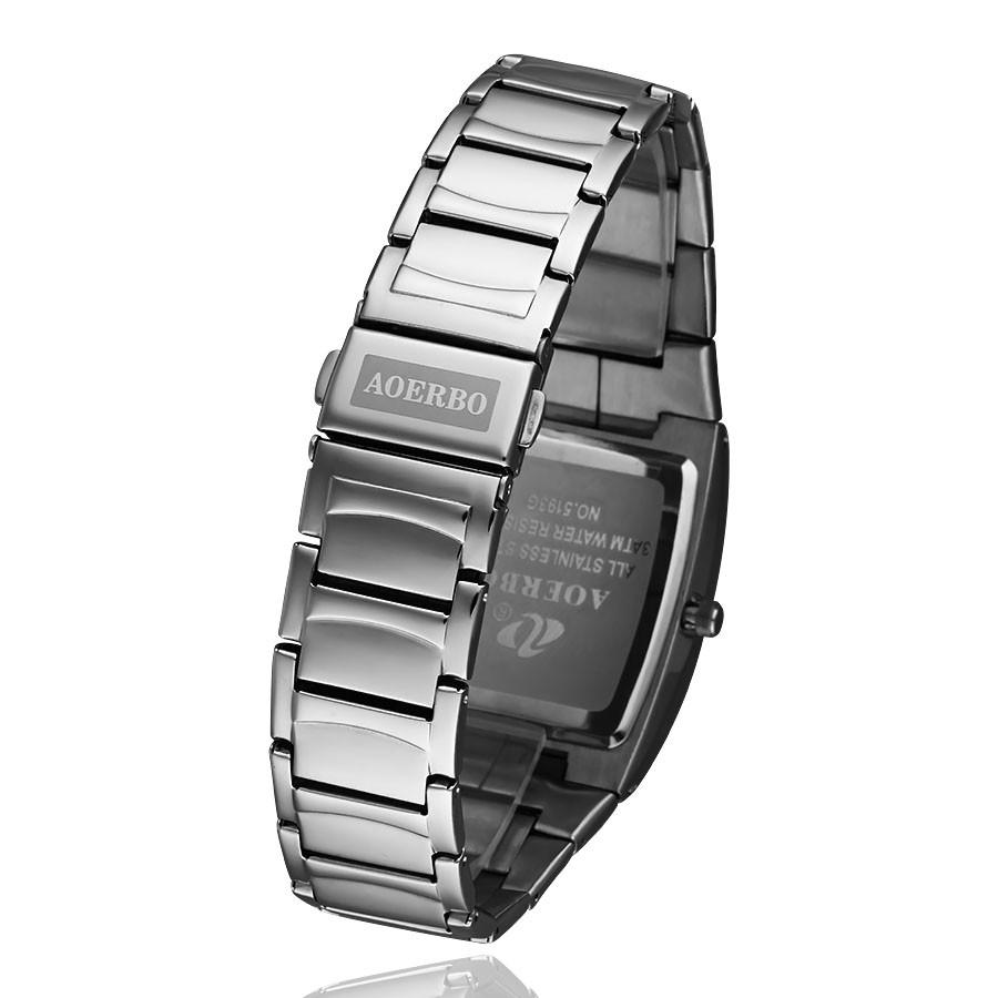 20cd31d5e96 Novos Homens Relógios Top Marca De Luxo 50 m Impermeável Ultra Fino ...